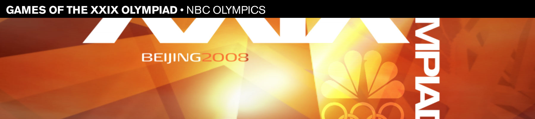 Games of the XXIX Olympiad  NBC Olympics